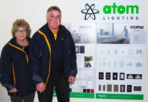 BUSINESS FOUNDERS: Bev and Brett Steinert started BCS Electrical in 1998.