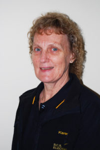 Karen - receptionist & accounts manager