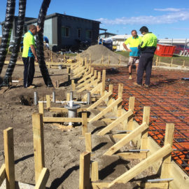 Underground electrical and lighting work for the waterpark at Victor Harbor Beachfront Caravan Park
