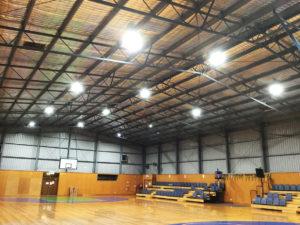 Victor Harbor Recreation Centre lighting