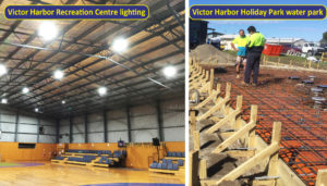 Commercial lighting and electrical projects