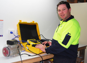 TEST TAGGING: Glenn and the team can assist with test tagging of your electrical tools, appliances and equipment.